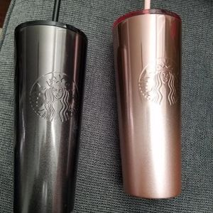 Starbucks cold cups set of 2